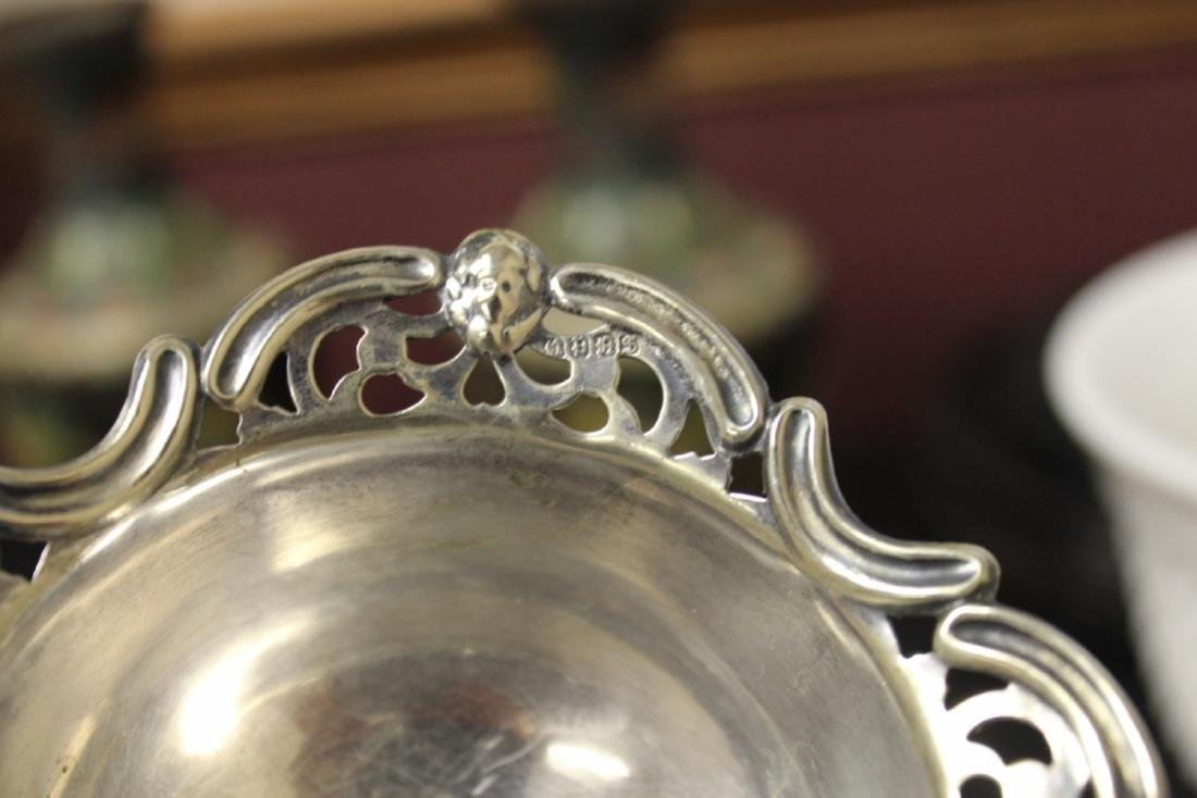 A Sterling Silver Figeral Small Dish - 4