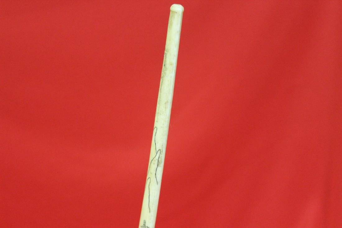 A Nicely Carved Chinese Cigarette Holder - 7