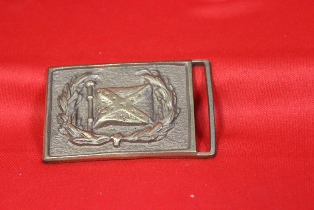 A Confederate Reproduction Belt Buckle