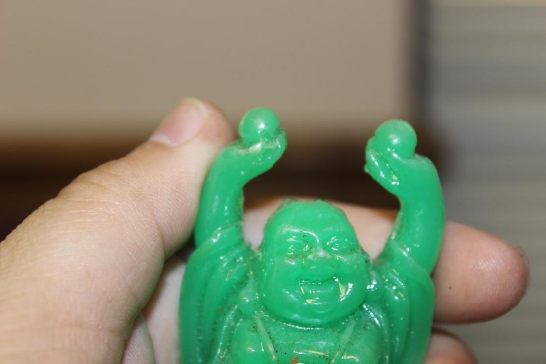 A Green Plastic Buddha - 4