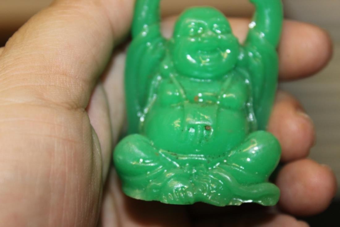 A Green Plastic Buddha - 5