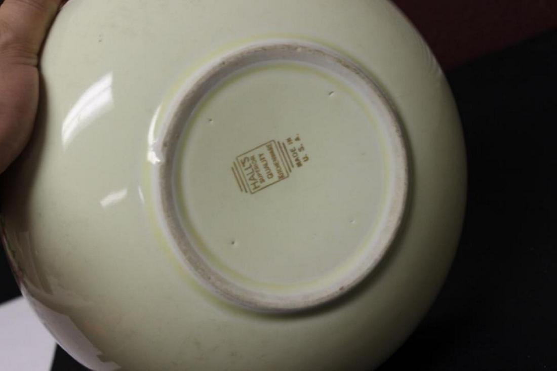 A Hall's Vintage Mixing or Salad Bowl - 4