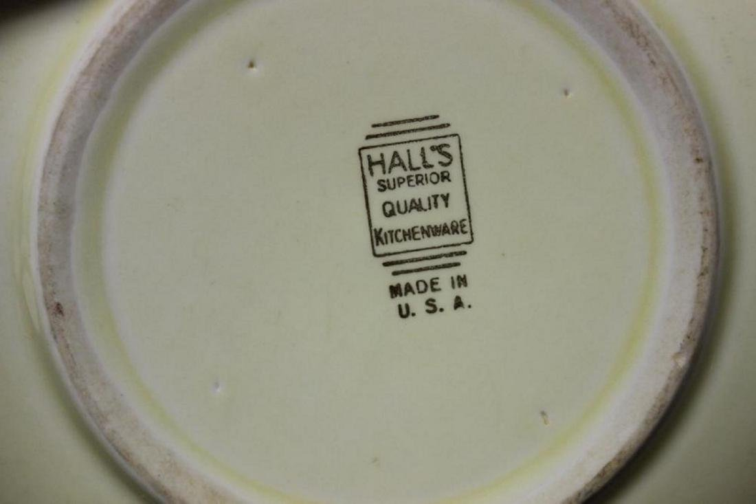 A Hall's Vintage Mixing or Salad Bowl - 5