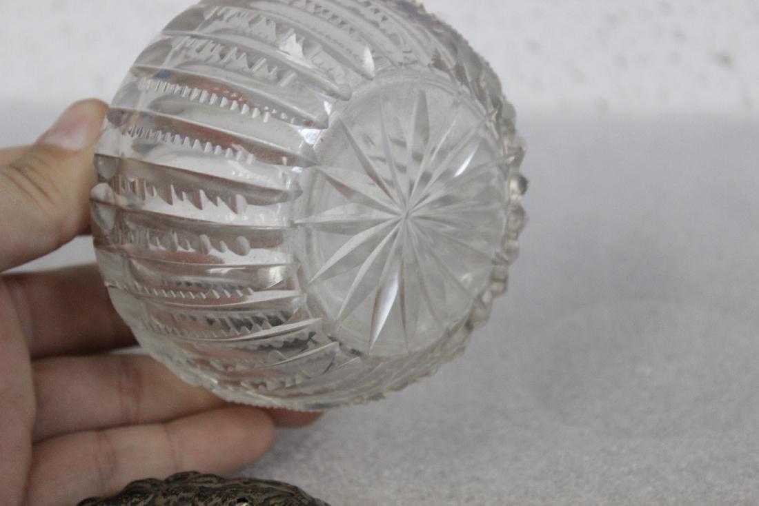 A Sterling Silver Art Nuveau Jar - 4