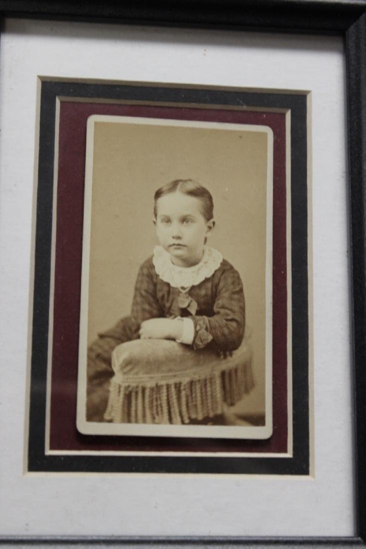 19th Century Photograph of a young child or girl