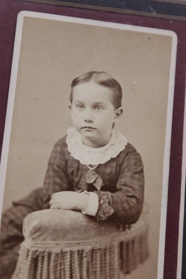 19th Century Photograph of a young child or girl - 3