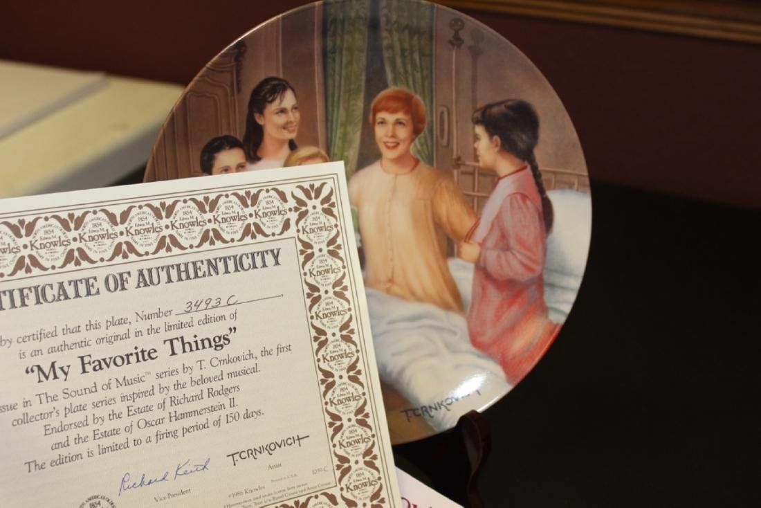 Collectors Plate By Crnkovich - Boxed with COA - 3