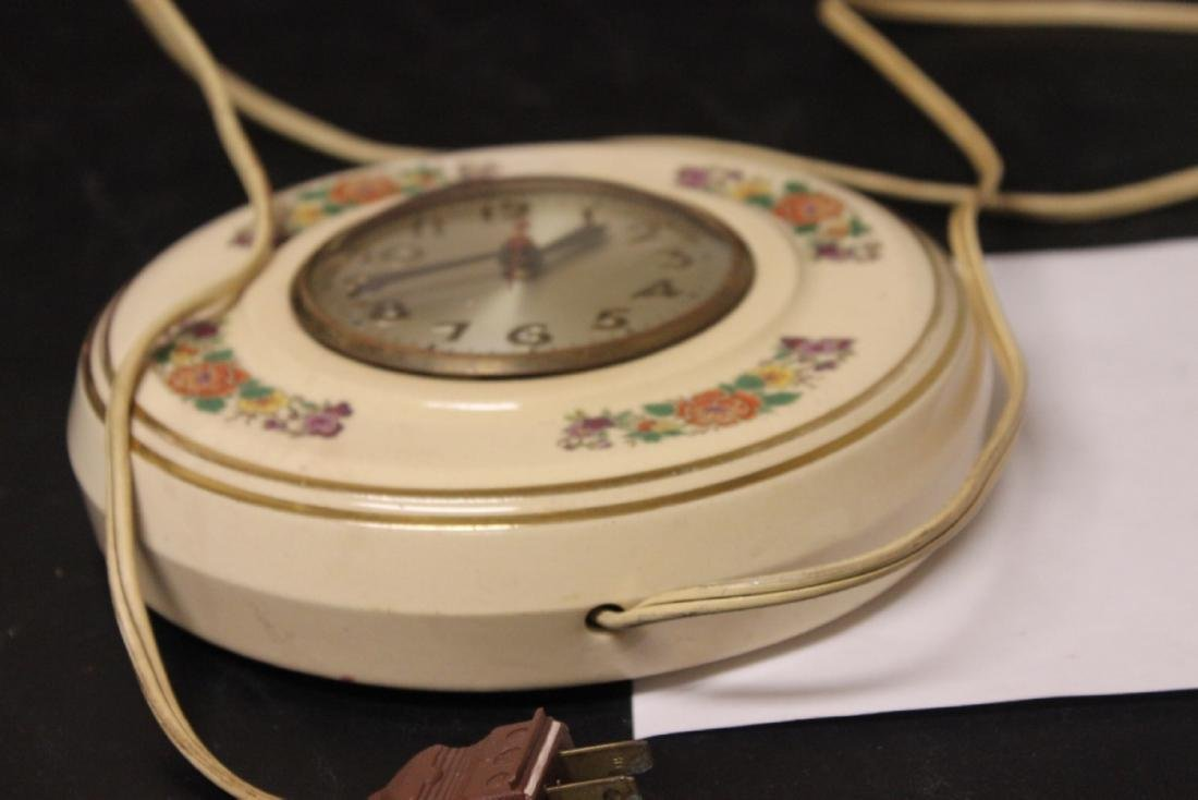 An Electric Ceramic Wall Clock