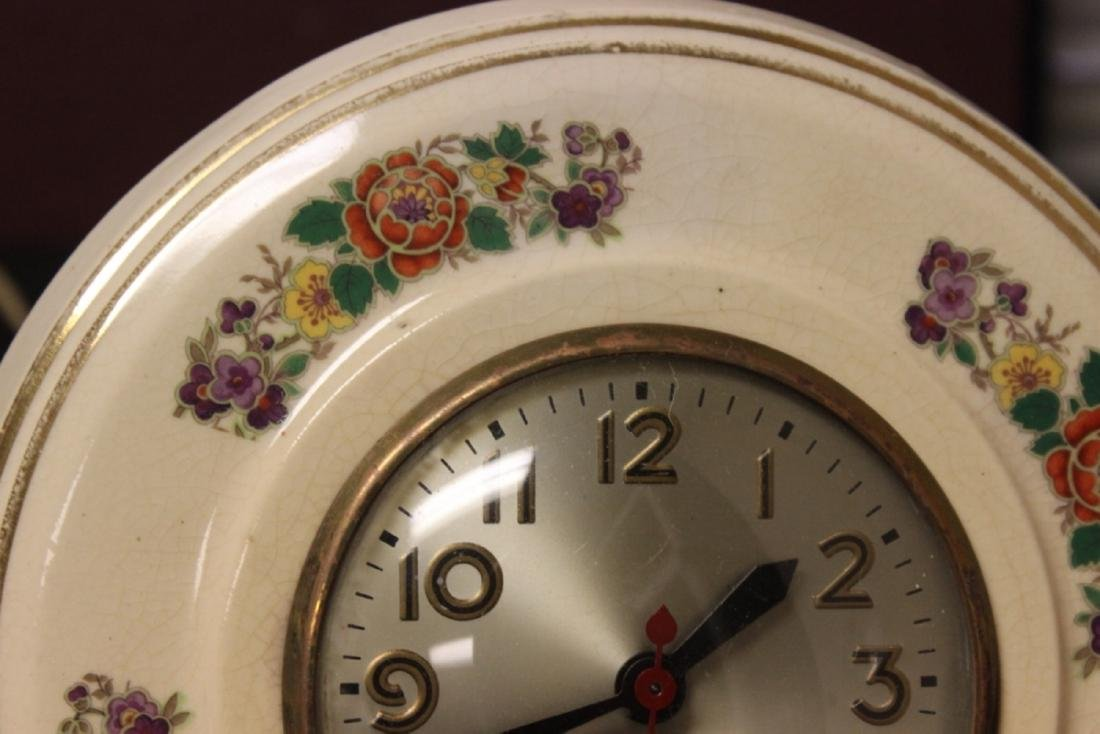 An Electric Ceramic Wall Clock - 3