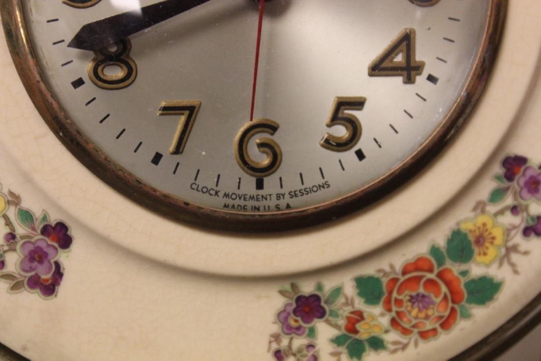 An Electric Ceramic Wall Clock - 6