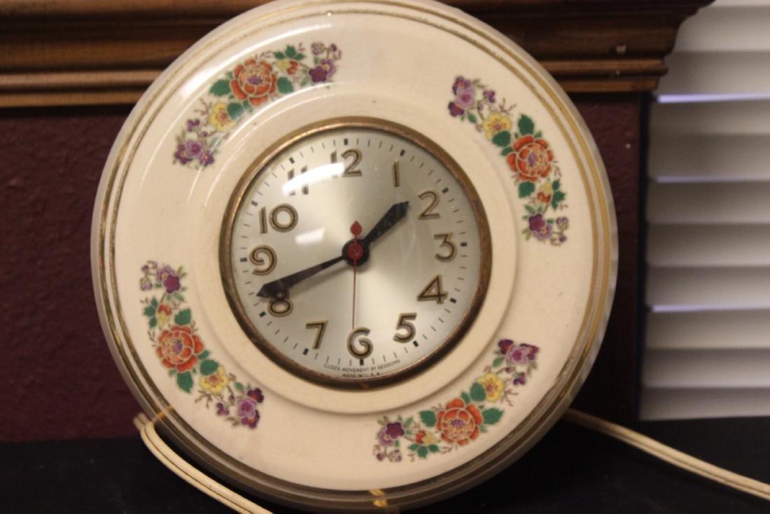 An Electric Ceramic Wall Clock - 8