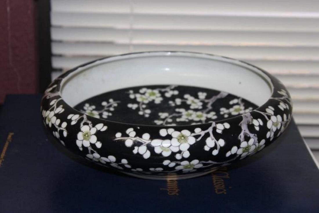 A Chinese/Asian Famille Noir Bowl