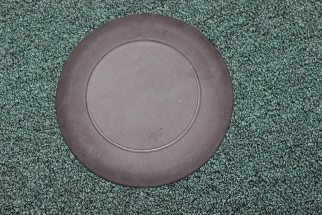 A Black Wedgwood Mother and Cherub Plate - 2
