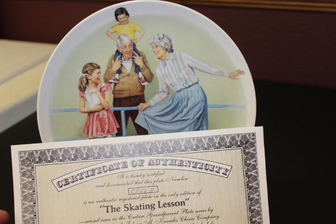 Collectors Plate by Csatari - Boxed with COA - 2