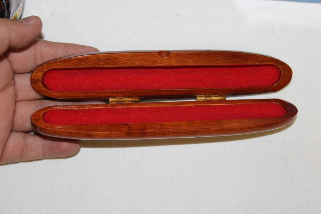 A Mother of Pearl Inlaid Box - 2