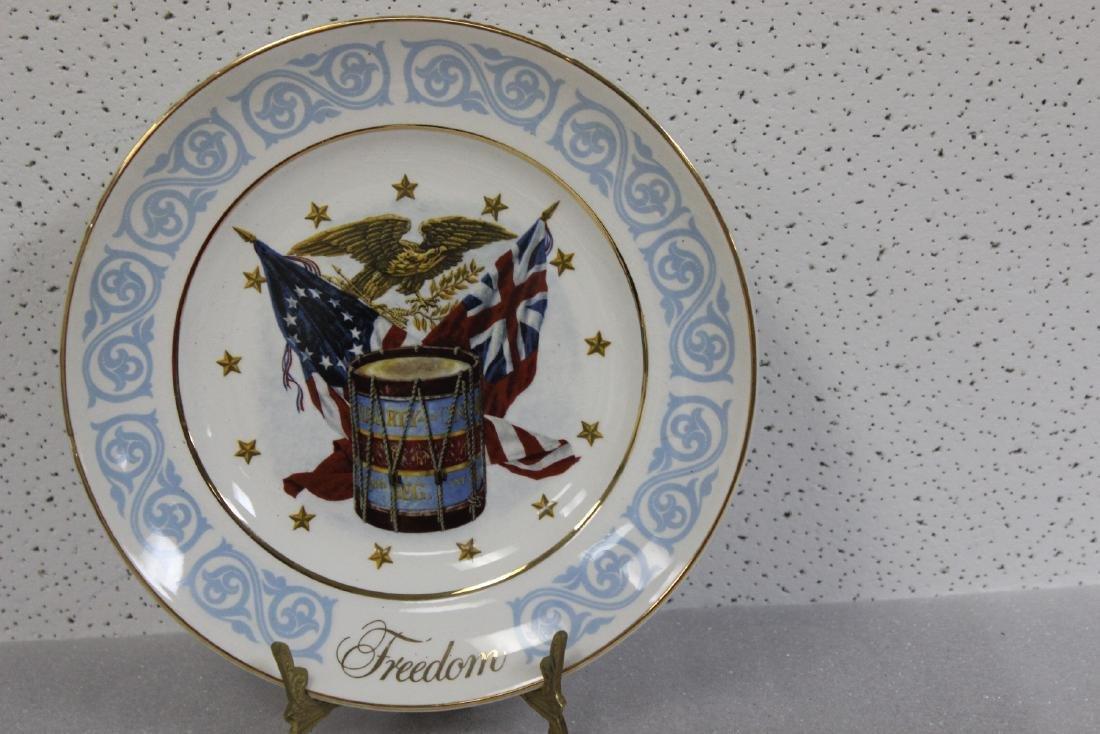 An Avon Collector's Plate