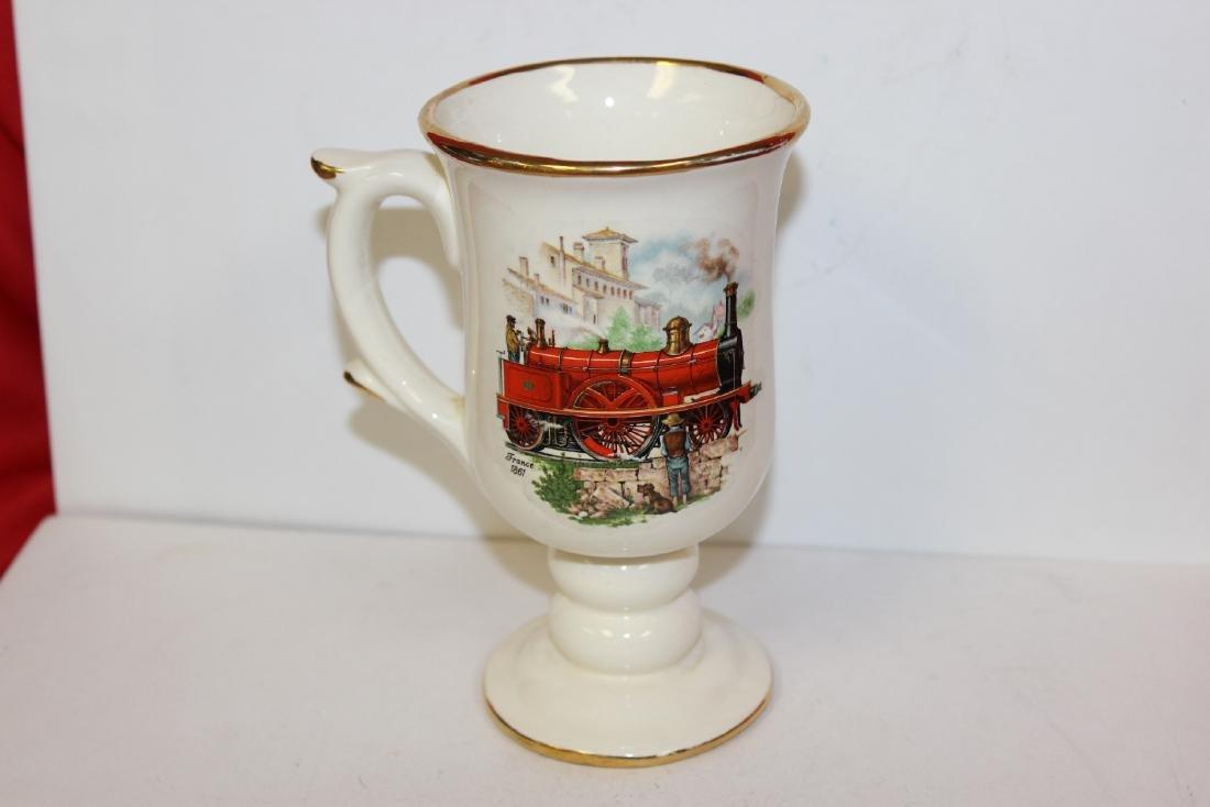 A Decorative Ceramic Cup