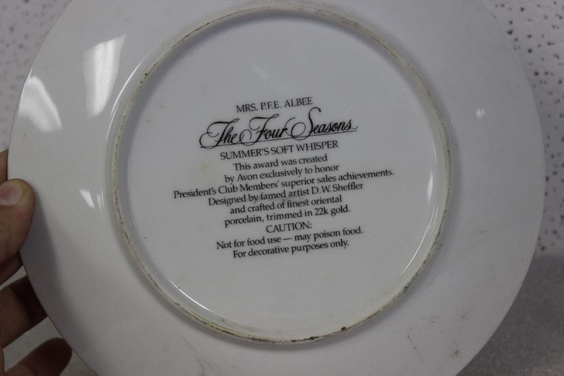 An Avon Collector's Plate - 2