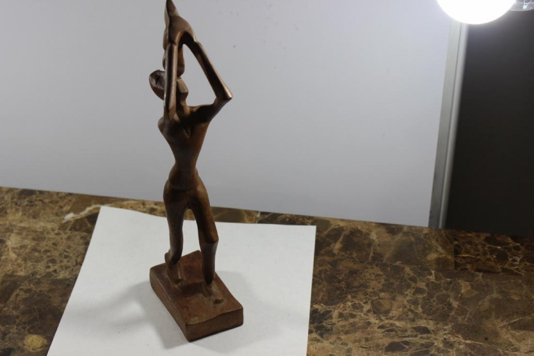 A Wooden African Figure