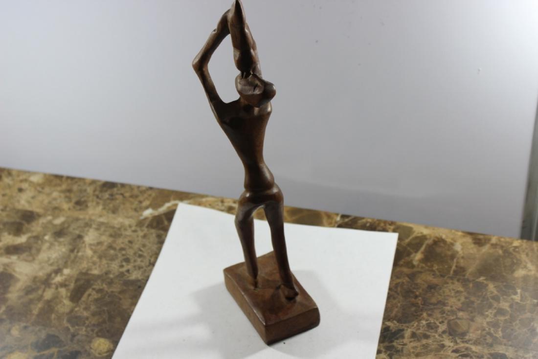 A Wooden African Figure - 3