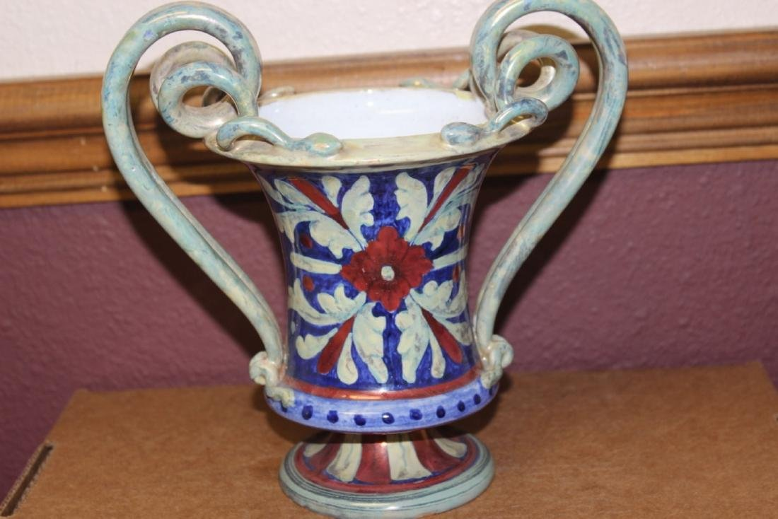 An A.R. Majolica Style Urn - 3