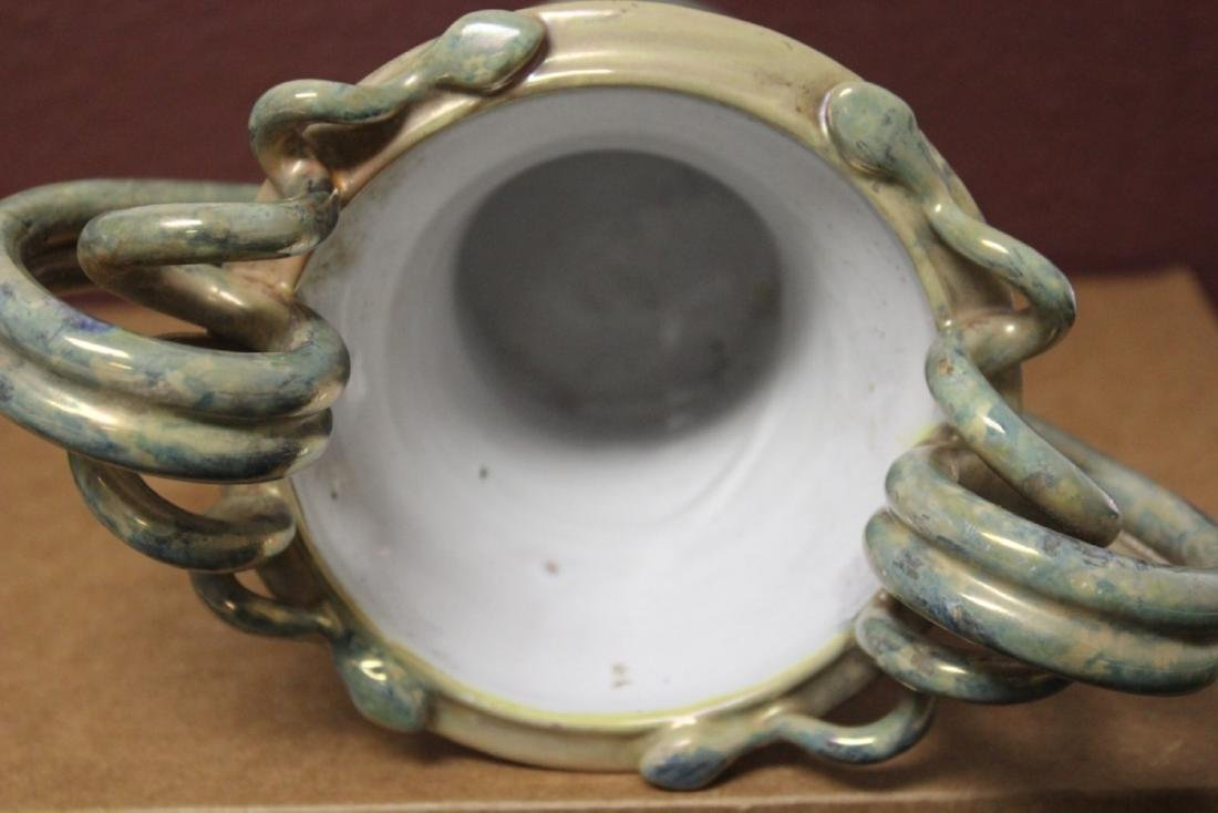 An A.R. Majolica Style Urn - 4