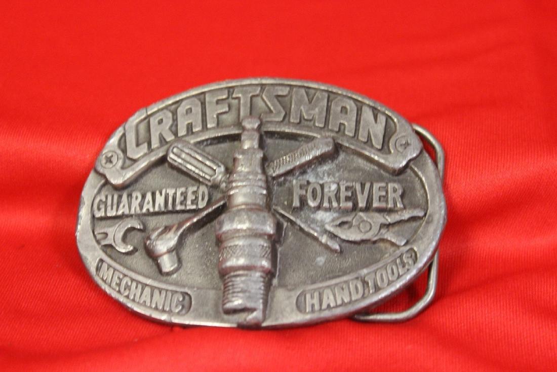 A Craftsman Belt Buckle