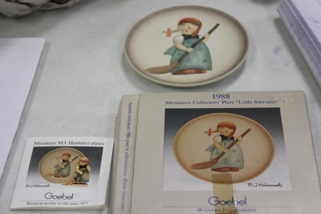 Hummel Miniature Plate
