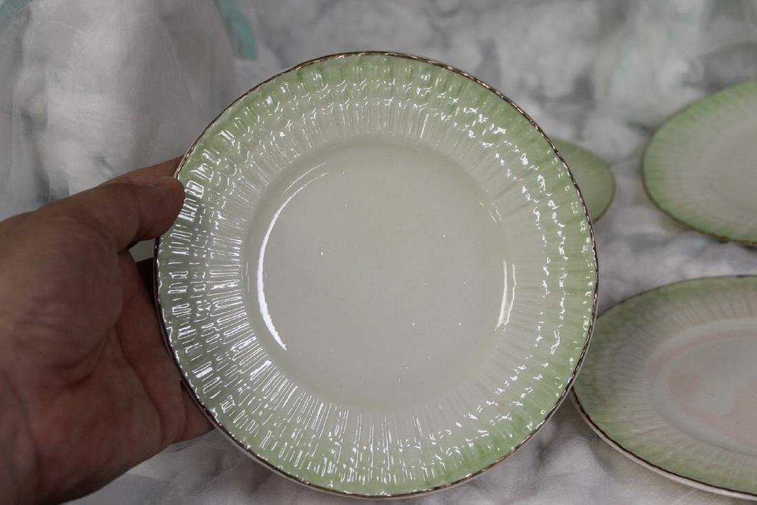 Set of 4 Belleek China Bread Plate - 2