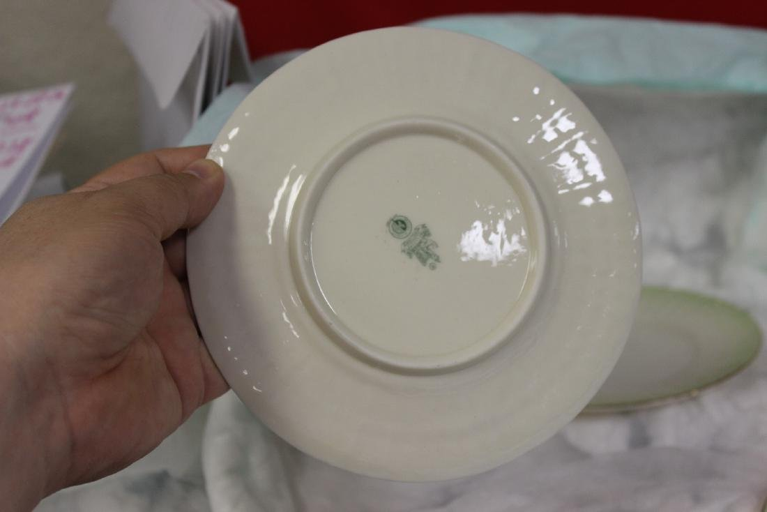 Set of 4 Belleek China Bread Plate - 5