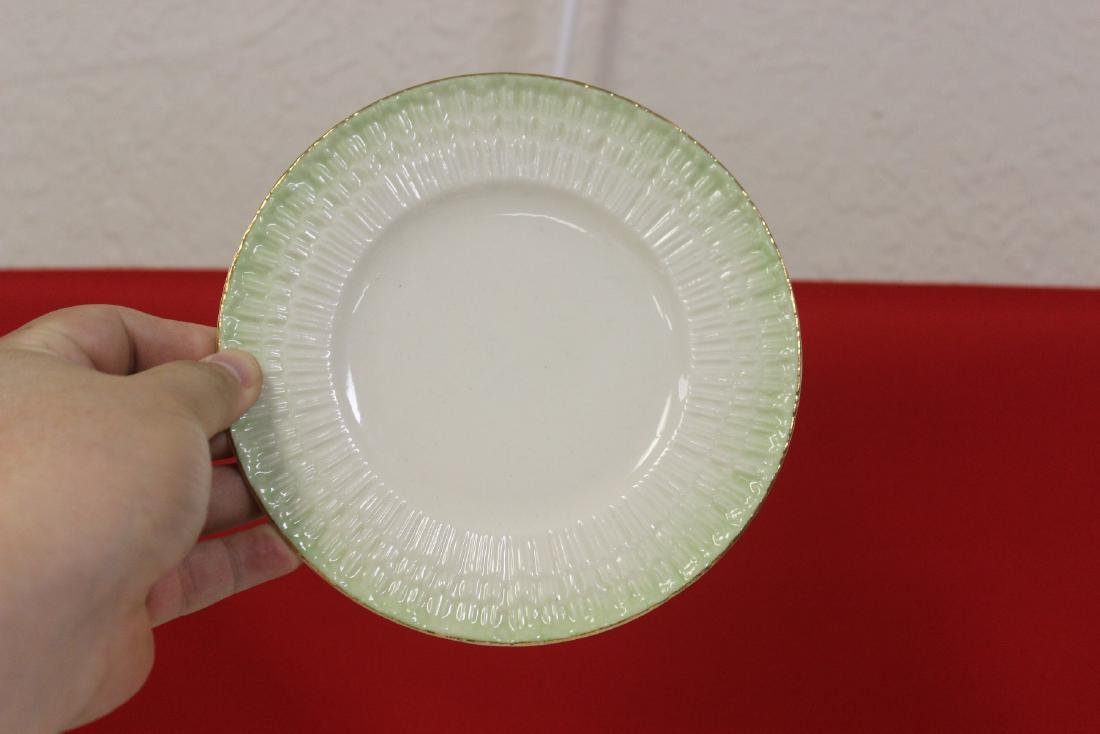 Set of 4 Belleek China Bread Plate - 6