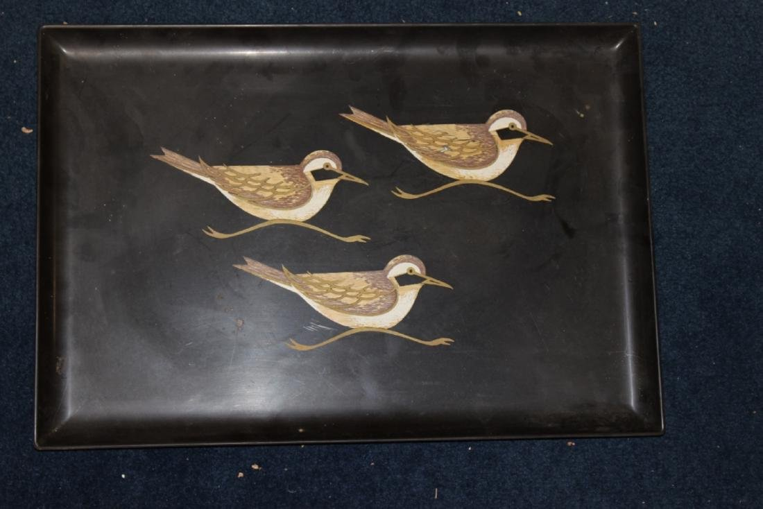 A Couroc Tray - Mid Century Modern Tray