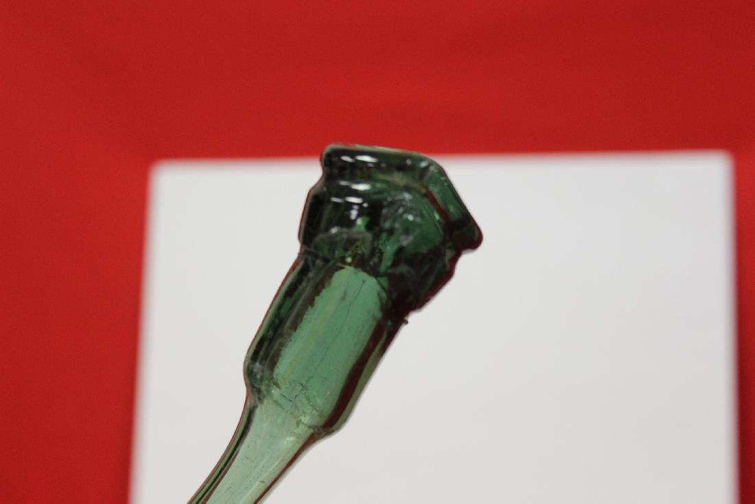 A Green Glass Vase - 3