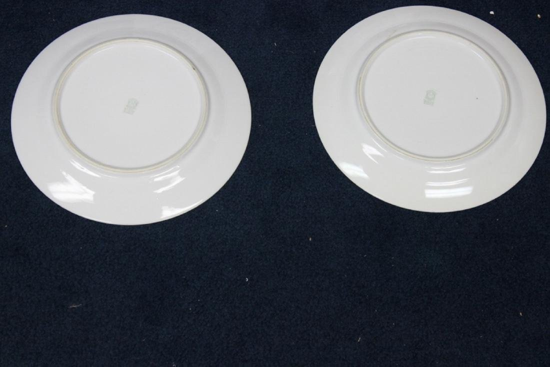 Lot of 6 Noritake Azalea Pattern Dinner Plates - 5