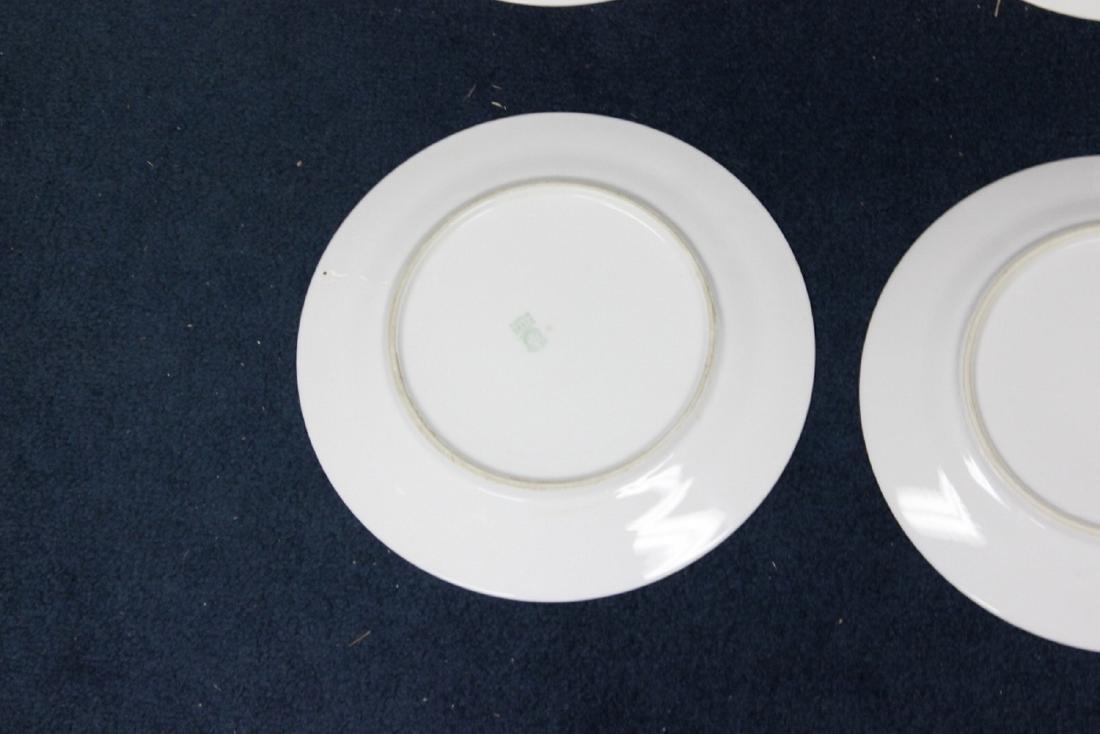 Lot of 6 Noritake Azalea Pattern Dinner Plates - 9