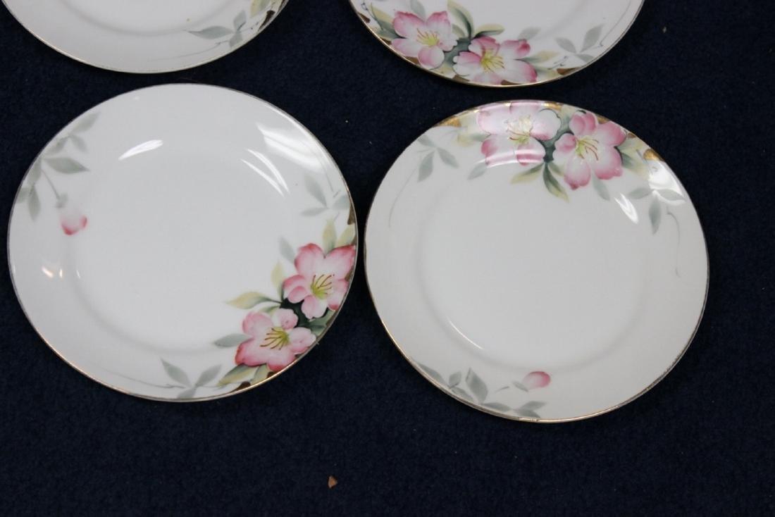 A Set of 4 Noritake Azalea Pattern Bread Plate - 2