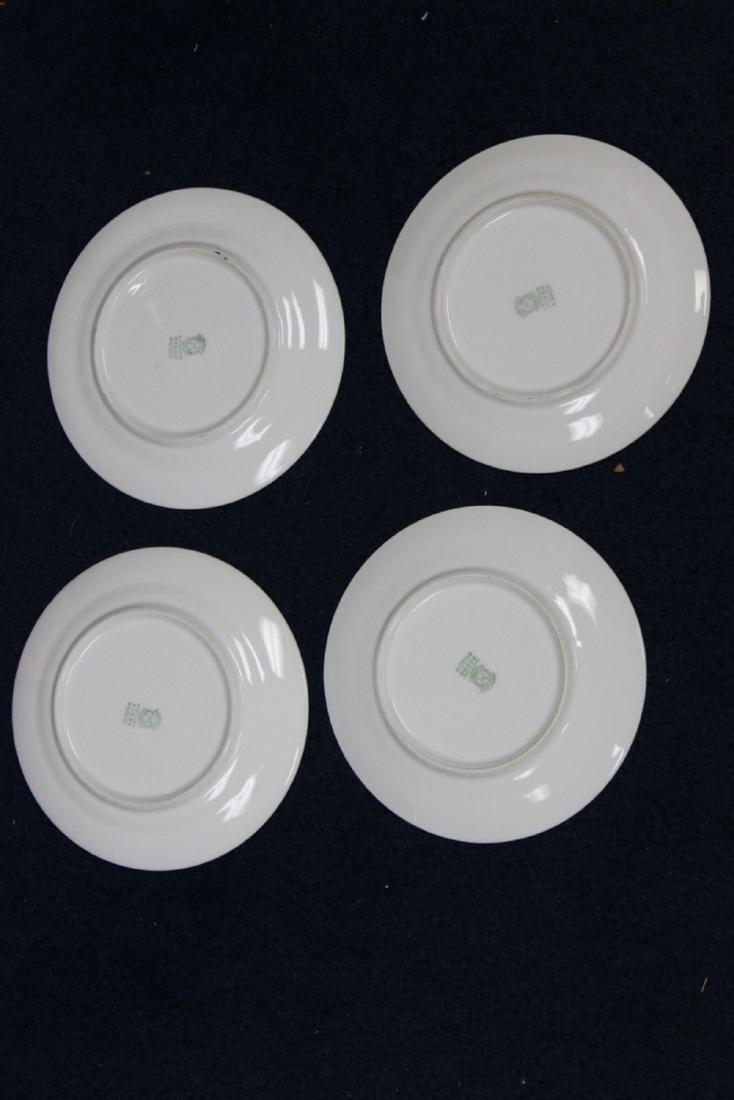 A Set of 4 Noritake Azalea Pattern Bread Plate - 4