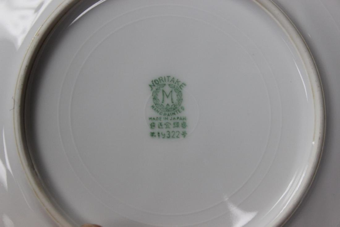 A Set of 4 Noritake Azalea Pattern Bread Plate - 5