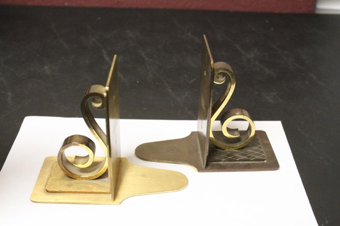 A Pair of Mid Century Modern Bookends