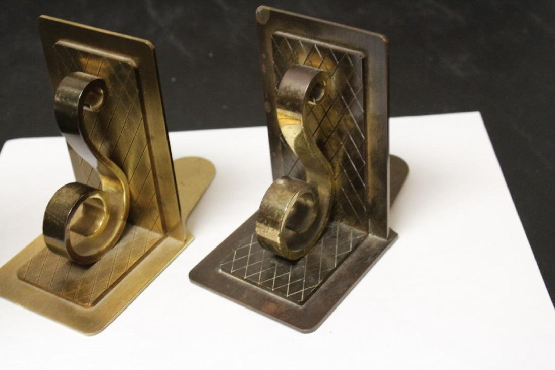 A Pair of Mid Century Modern Bookends - 5