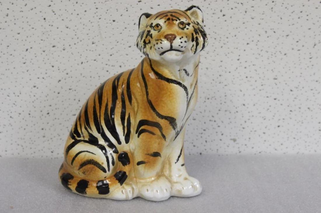 A Ceramic Tiger