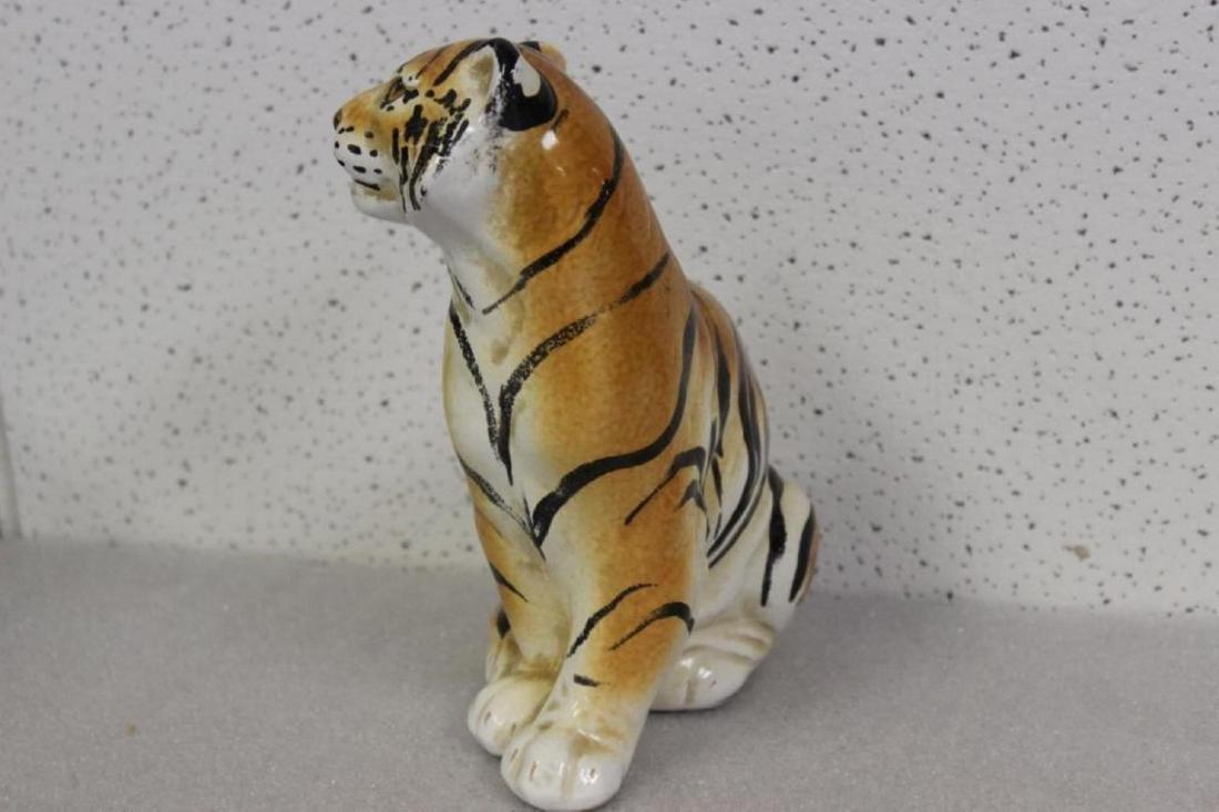 A Ceramic Tiger - 2