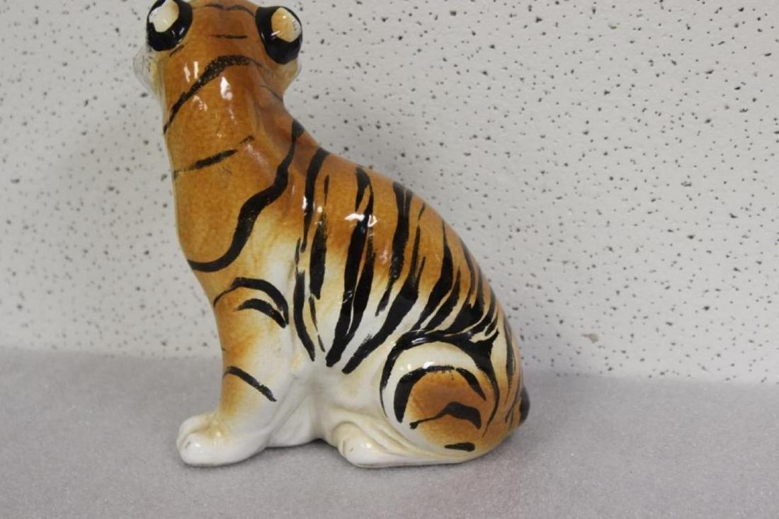 A Ceramic Tiger - 3
