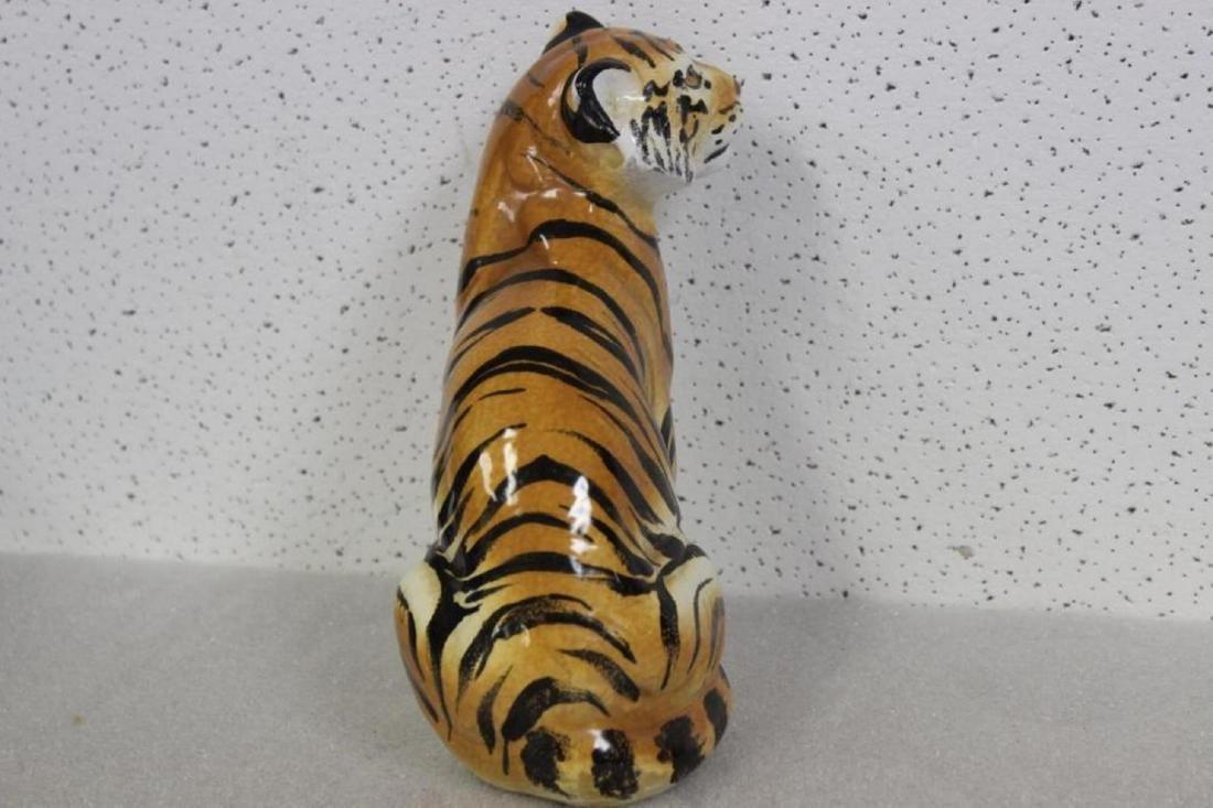 A Ceramic Tiger - 4