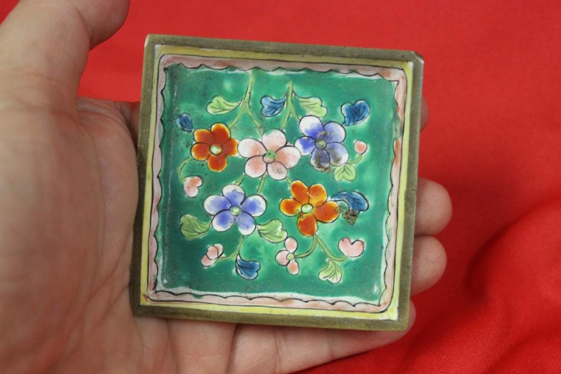 A Chinese Enamel Small Dish