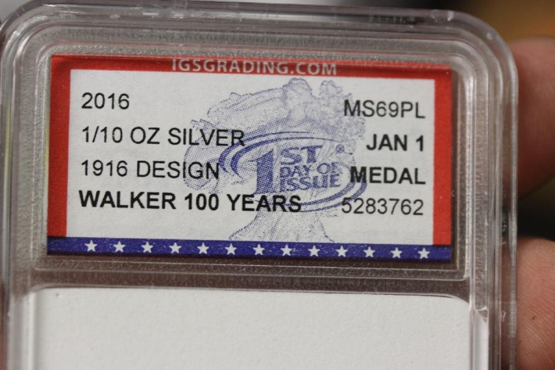 Two Graded IGS Graded Coins - 3