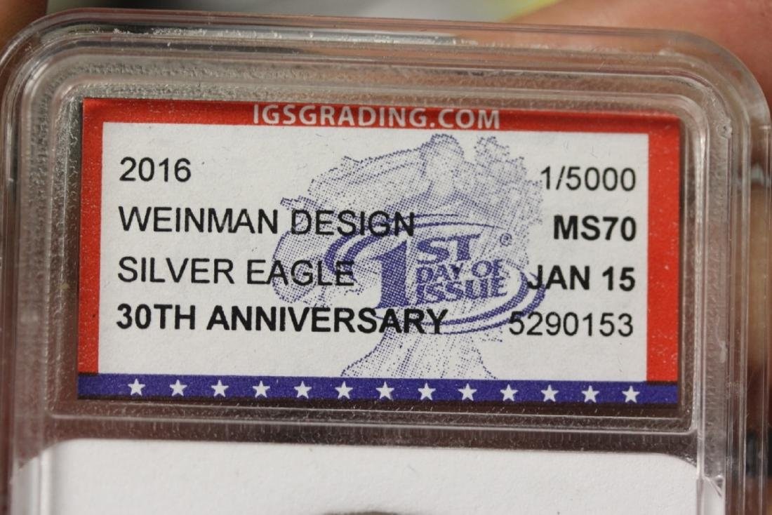 Two Graded IGS Graded Coins - 4