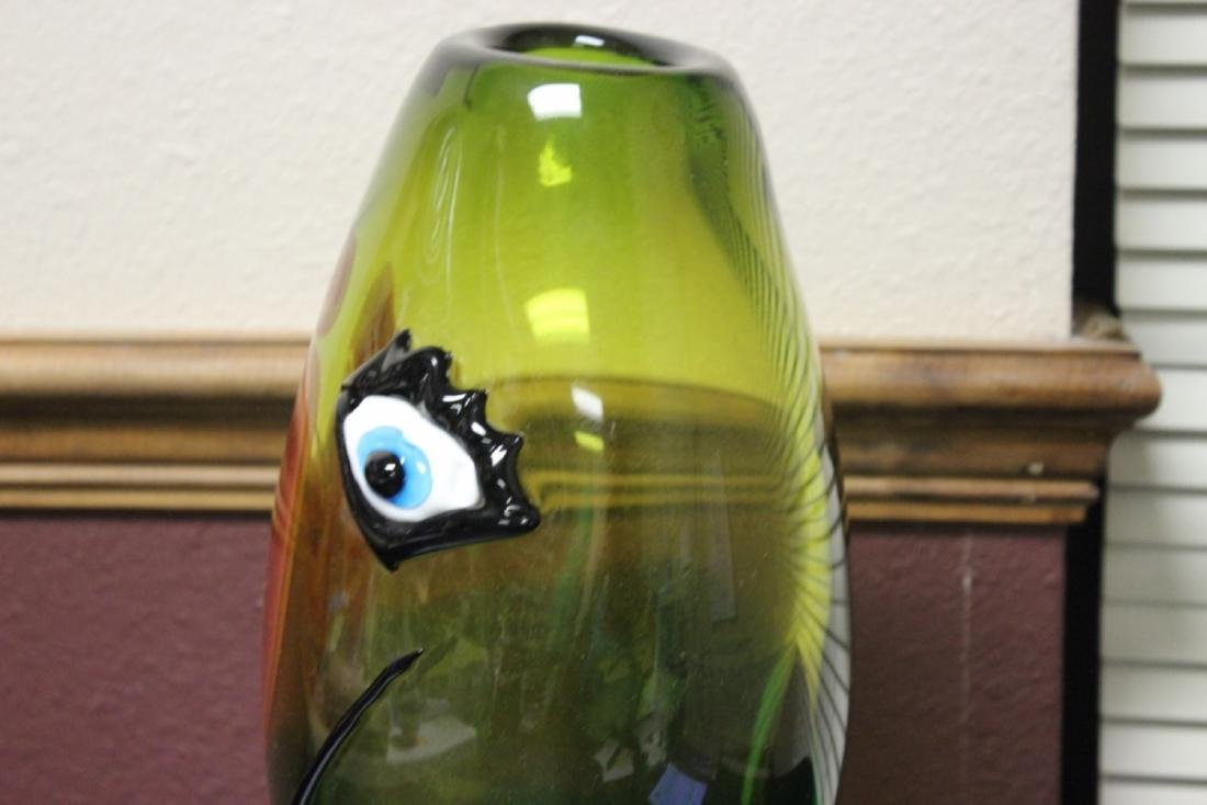 A Picasso Style Art Glass Vase - 6