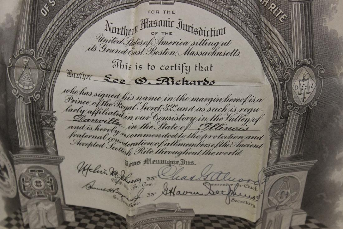 A Scottish Rite Document - 3