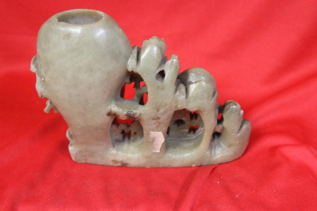 A Soapstone Vase - 3